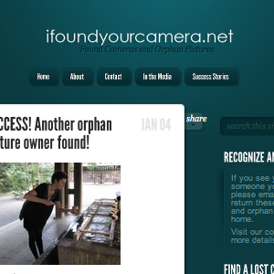 Have You Lost Your Camera? Then Find It Again With IFoundYourCamera
