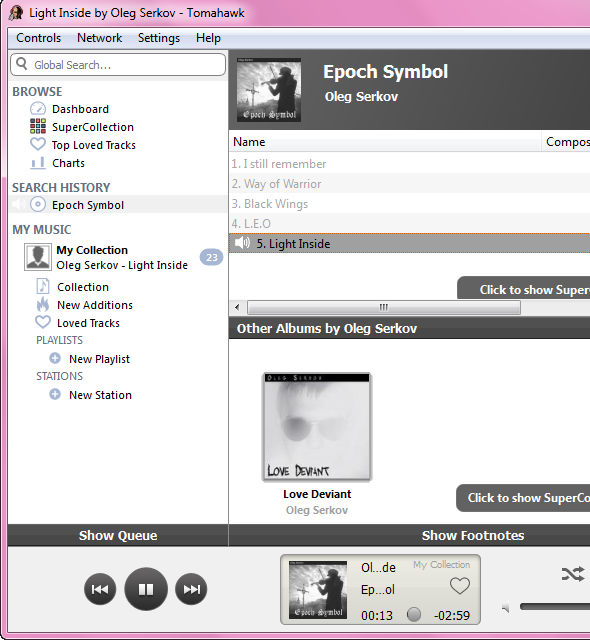 social music player