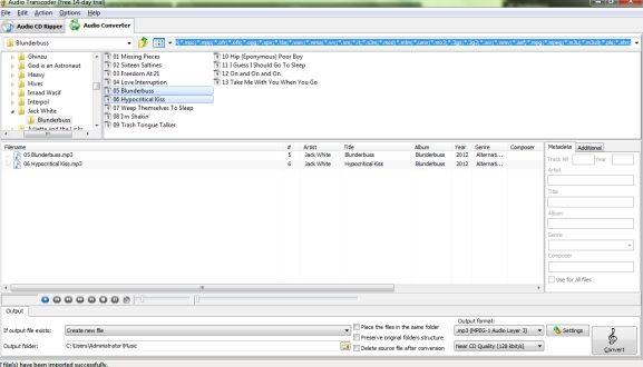 convert audio file formats