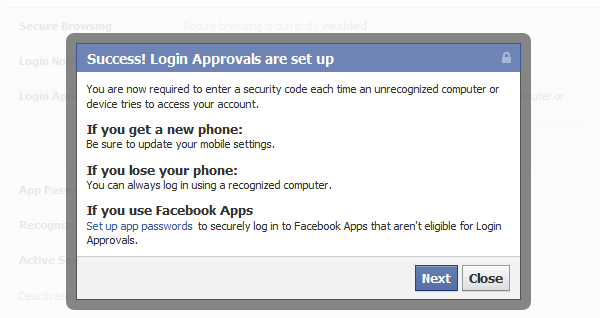 log in to facebook account