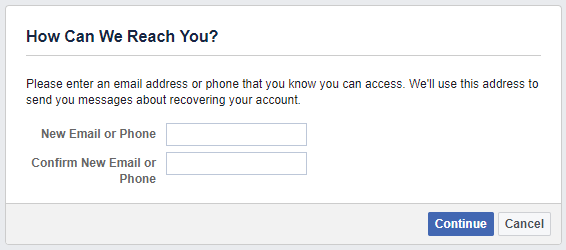 How to Recover Your Facebook Account When You Can No Longer Log In Facebook Reach