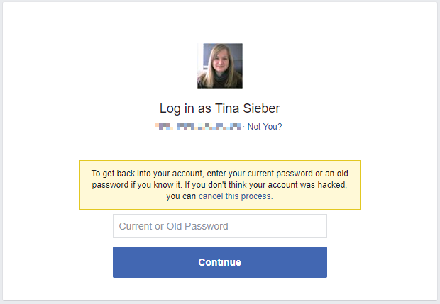 How To Recover Your Facebook Account When You Can T Log In