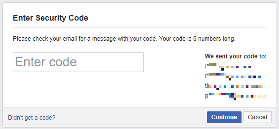How to Recover Your Facebook Account When You Can No Longer Log In Facebook Security Code 1