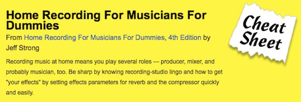 learn audio engineering