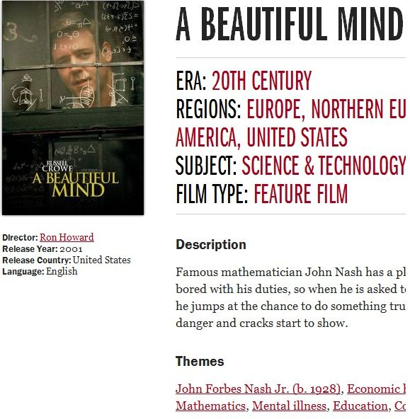 FilmStory: Learn About Historical Topics Through Films Made About Them Mind