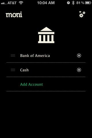 app to manage bank accounts