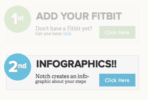 3 Really Inspiring Fitness Infographics, Plus Create One Of Your Own! Notch fitbit link
