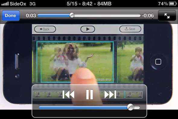 create photo from video