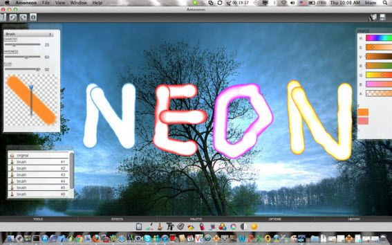 convert picture to neon