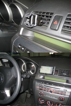diy smartphone car mount