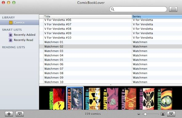 Enjoy Your Comic Books With ComicBookLover [Mac & iOS] comicbooklover 2