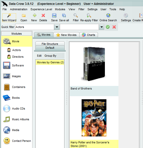 Use Data Crow to Organize & Manage All Your Stuff [Windows] datacrow8