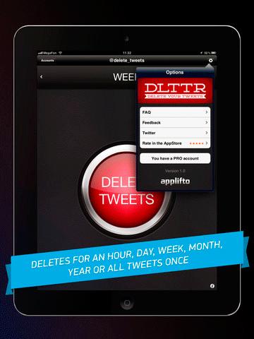 mass delete tweets twitters