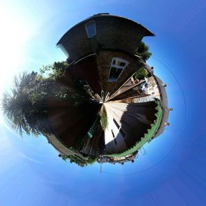 How To Make Your Own Little Polarama Planet With Photoshop