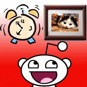 Reddit Photo Clock for iPad: The Greatest Productivity Killer Ever