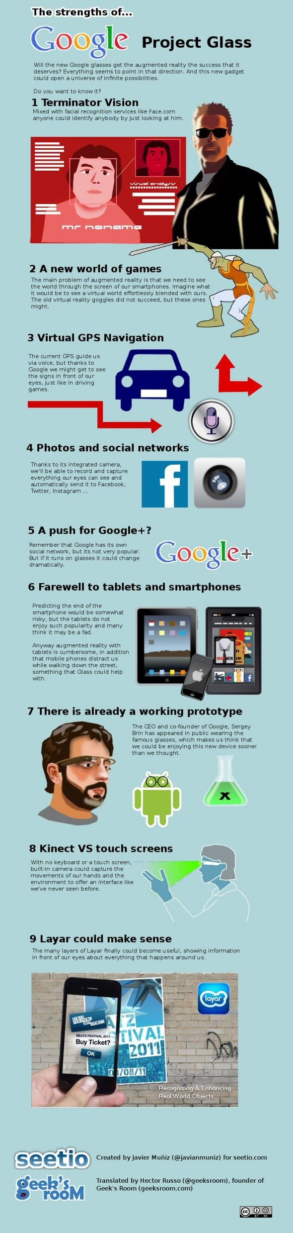 The Strengths Of Google Project Glass [INFOGRAPHIC] google glass