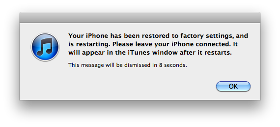 restoring iphone from icloud