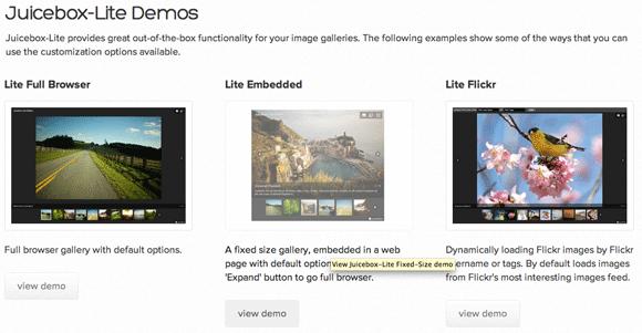 create html5 gallery