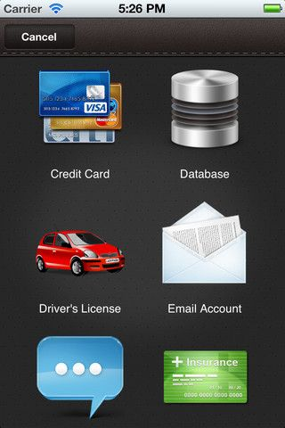 securely store credit card info