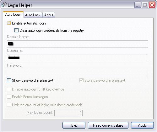 make windows auto login