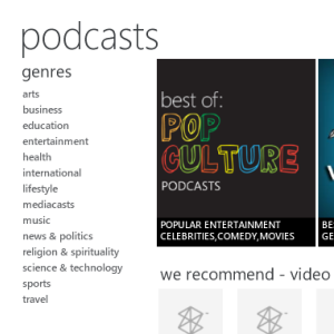 Steps To Downloading & Managing Your Podcasts With The Zune Client