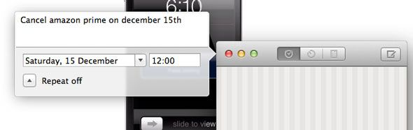 Due: The Reminder & Timer App You've Always Wanted [OSX & iOS] nlp
