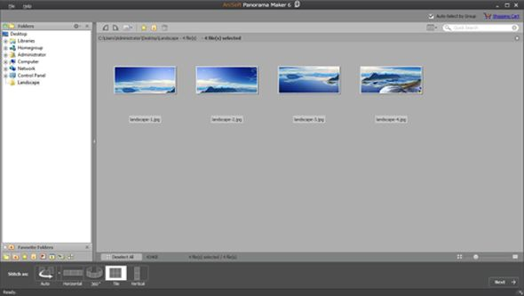 Stitch Together Panoramic Images With Arcsoft Panorama Maker 6 [Giveaway] panorama maker 6 ss1