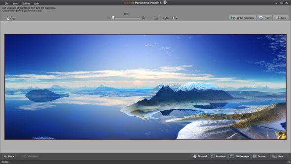 Stitch Together Panoramic Images With Arcsoft Panorama Maker 6 [Giveaway] panorama maker 6 ss3