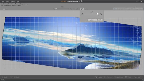 Stitch Together Panoramic Images With Arcsoft Panorama Maker 6 [Giveaway] panorama maker 6 ss4