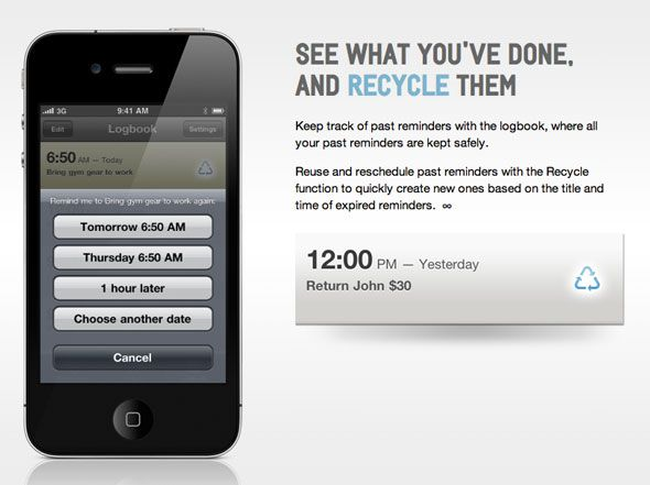 Due: The Reminder & Timer App You've Always Wanted [OSX & iOS] recycle