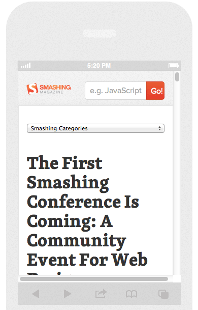 check website design