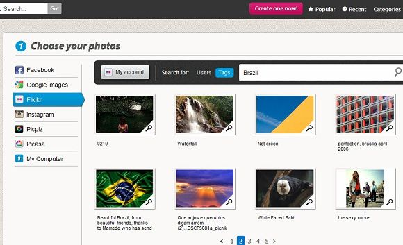 create slideshows from photos