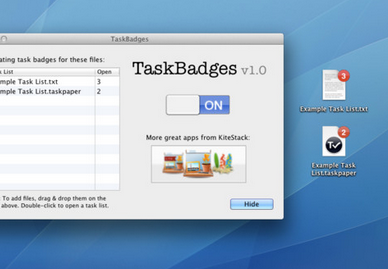 taskbadges