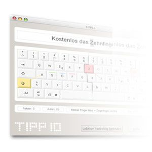 Learn To Type Really Fast With The Intelligent Touch Typing Tutor TIPP10 [Cross Platform]