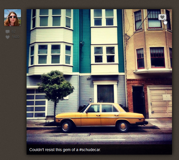 instagram web app