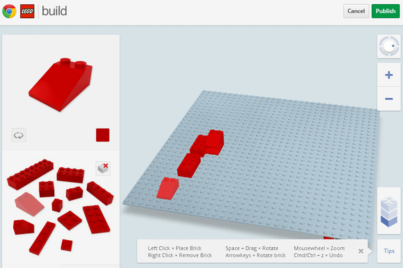 1 1   Build With Chrome: Build Virtual LEGO Structures
