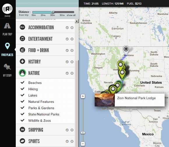 15   Roadtrippers: Plan Your Trip & Find Attractions Along The Route