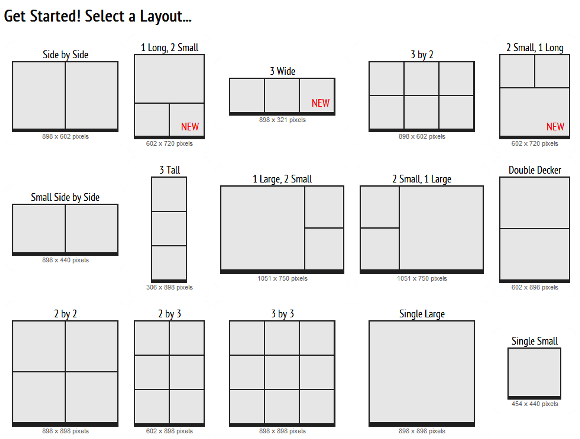 2012 06 09 17h30 49   Picisto: Make Your Own Photo Collage With 15 Layouts To Choose From [Web]