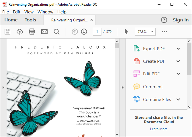 Unable to search for words in a pdf document | Adobe Community