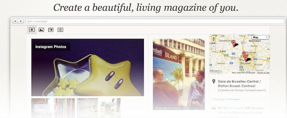 Make Your Own Living Glossi Magazine From Social Networks Glossi Splash