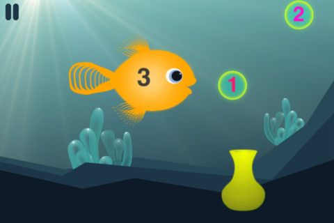 Hungry Fish   Hungry Fish: A Fun Way For Children To Learn Mathematics [iOS]