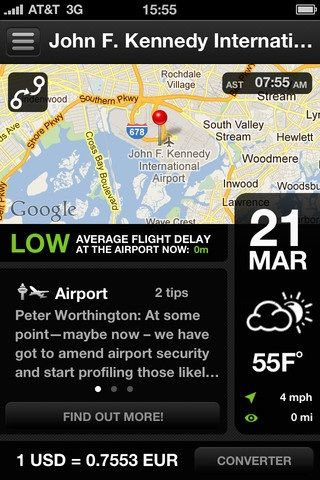 app for frequent flyers