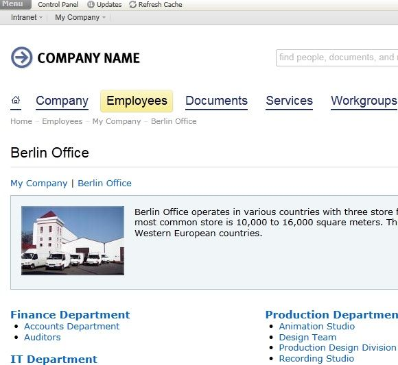 intranet for office