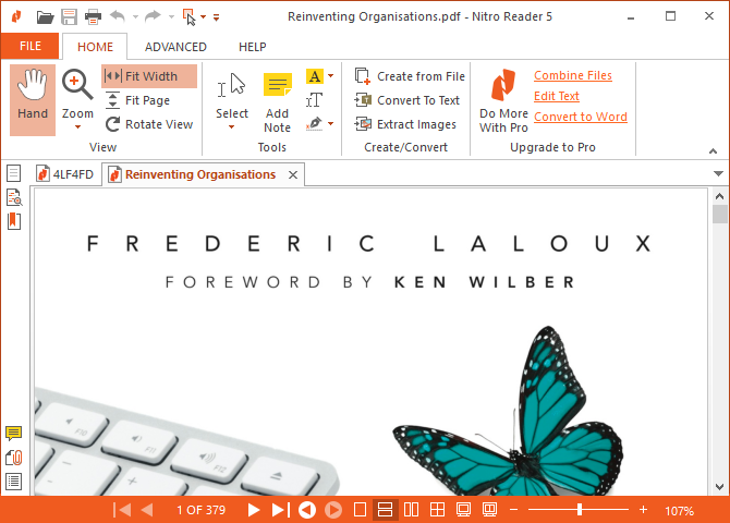 The 6 Best PDF Readers for Windows Nitro Reader 5 670x480