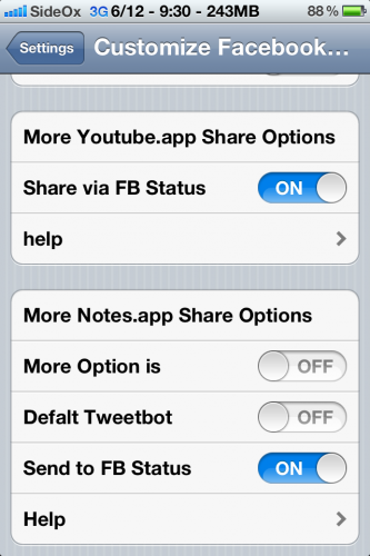 facebook integration jailbreak