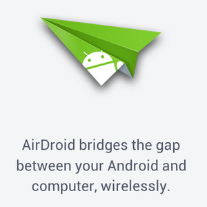 AirDroid – Send SMS, Share Links, Transfer Files & More [Android 2.1+]