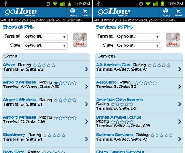 GoHow Airport: An Excellent Free App for Frequent Flyers [Android & iPhone] android gohow airport 2