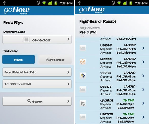 GoHow Airport: An Excellent Free App for Frequent Flyers [Android & iPhone] android gohow airport 4