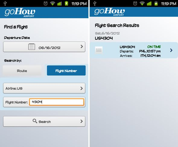 GoHow Airport: An Excellent Free App for Frequent Flyers [Android & iPhone] android gohow airport 5