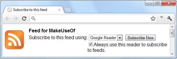 chrome subscribe to feed